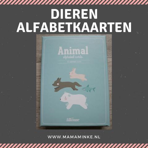 Sinterklaastip #3 alfabet kaarten, een leuk en leerzaam cadeau