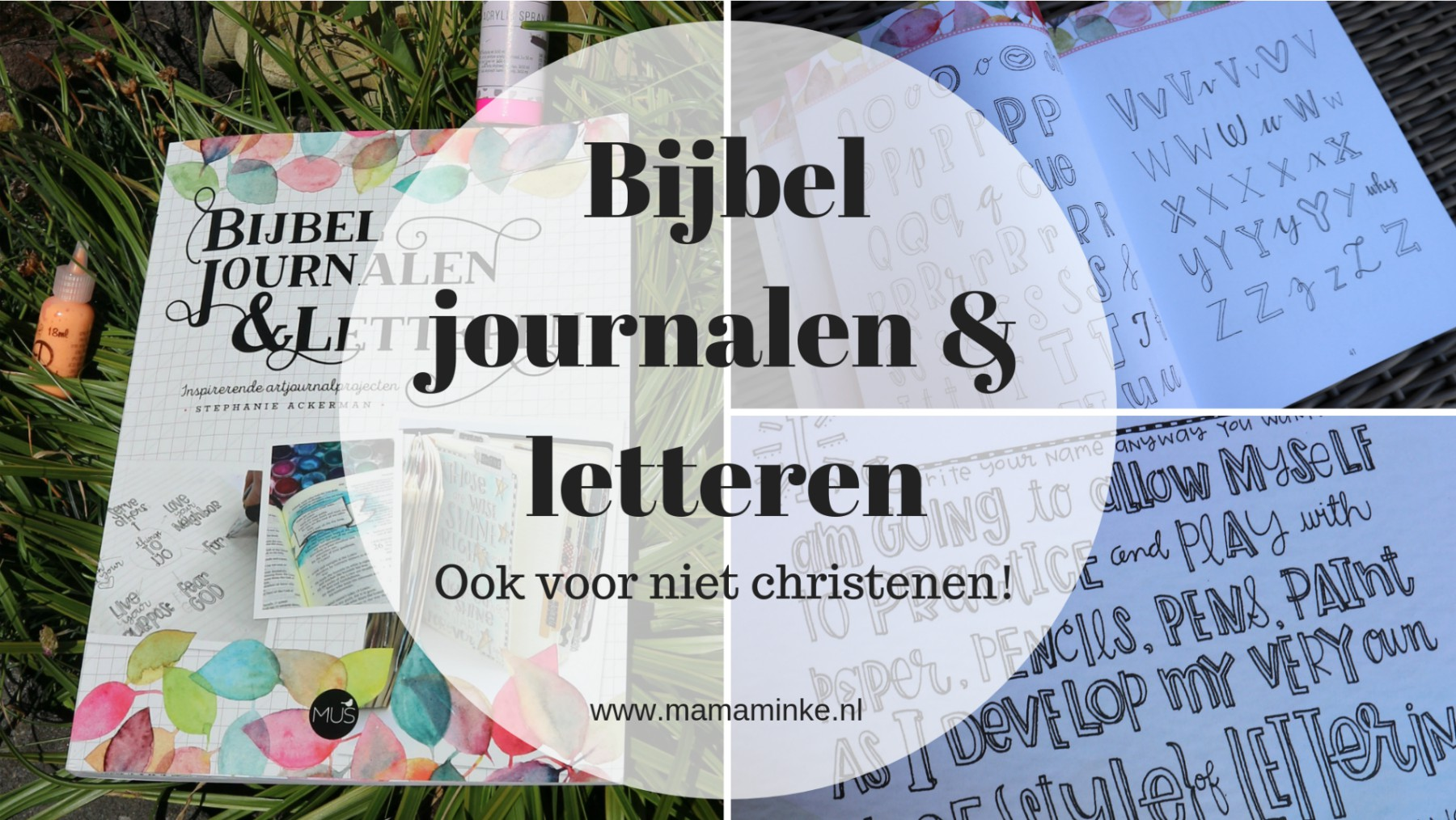 Recensie bijbel journalen & letteren – de bijbel journaling lijn van MUS