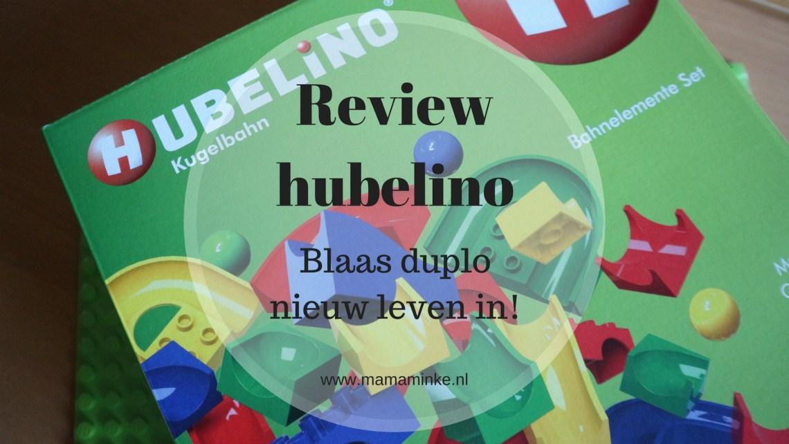 Hubelino baanelementenset met onderplaat uitgelichte afbeelding