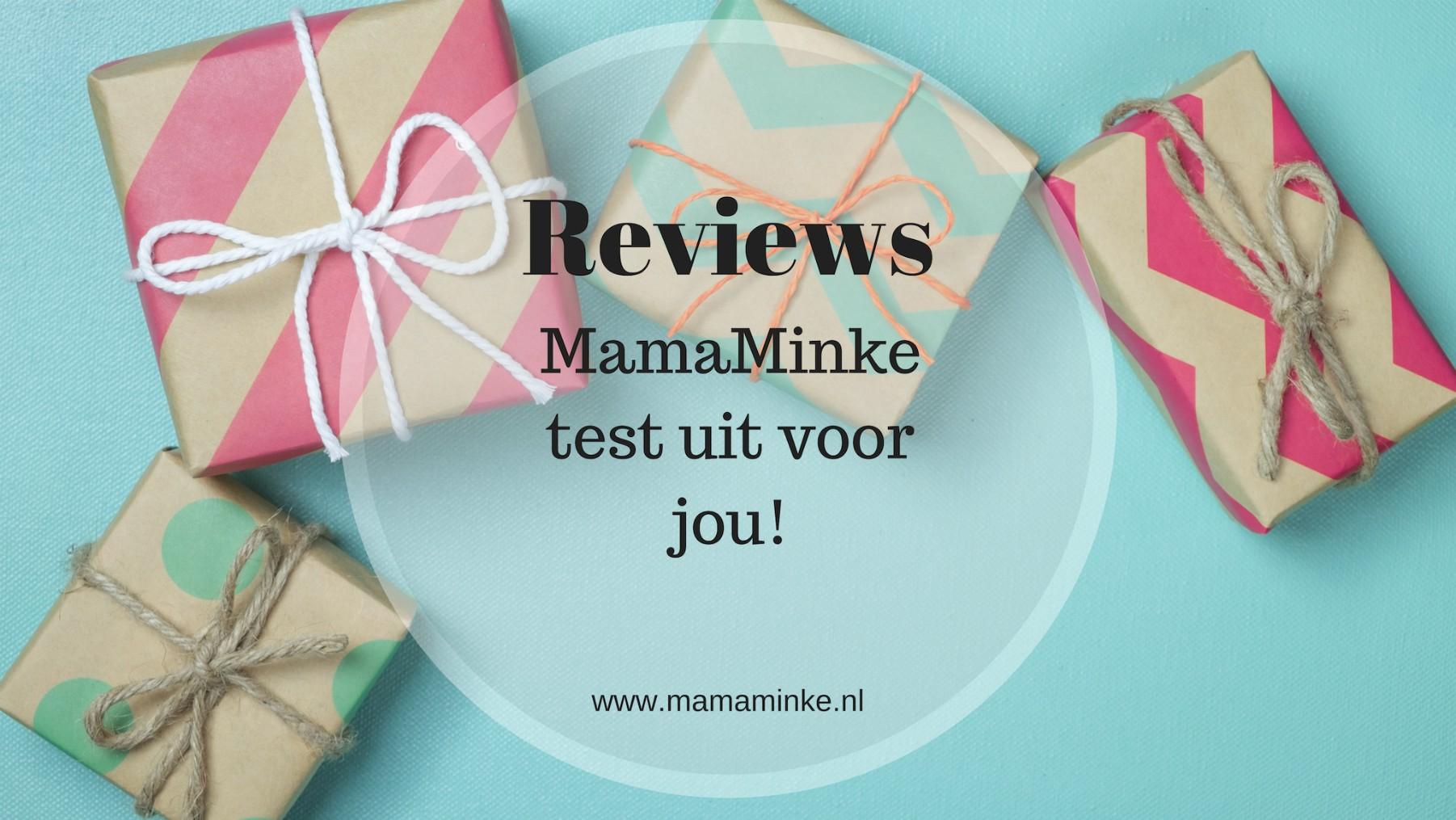 Deze week veel (speelgoed) reviews op mamaminke.nl