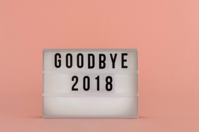 Goodbye 2018 – most of the time you were beautifull