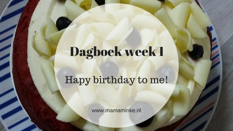 Dagboek week 1: happy birthday to me!