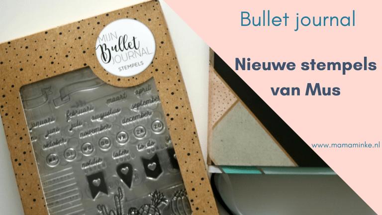 Clear stamps van Mus maakt bullet journaling easy