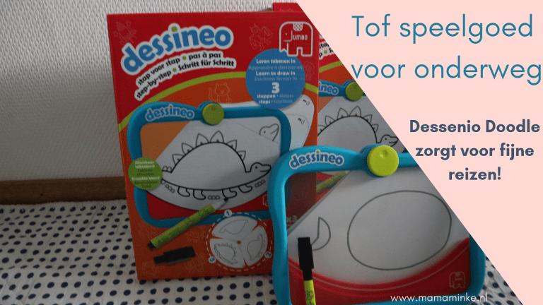 Dessenio doodle; ideaal speelgoed voor lange autoritten + winactie