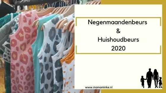 De negenmaandenbeurs & huishoudbeurs 2020