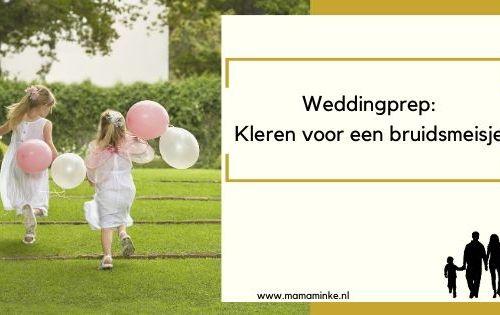 Bruidsmeisje jurk zoeken weddingprep - uitgelichte afbeelding