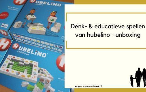 denk- en educatieve spellen van hubelino - uitgelichte afbeelding