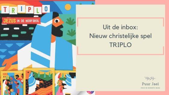 Geloofsopvoeding: nieuw spel TRIPLO