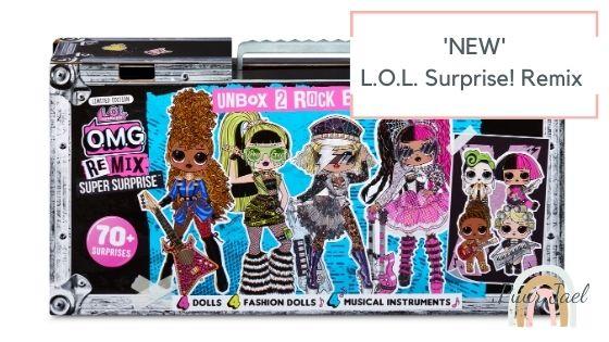 L.O.L Surprise remix van favoriet speelgoed naar hit.