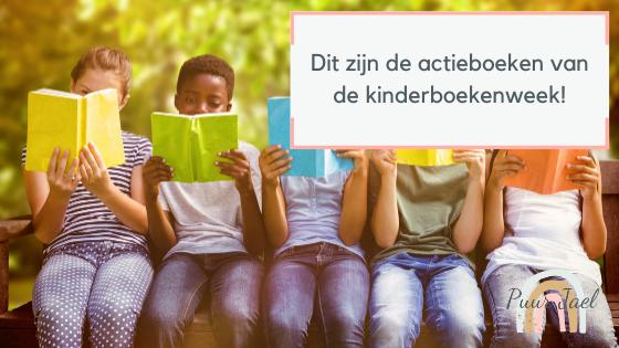 Dit zijn de actieboeken van de kinderboekenweek
