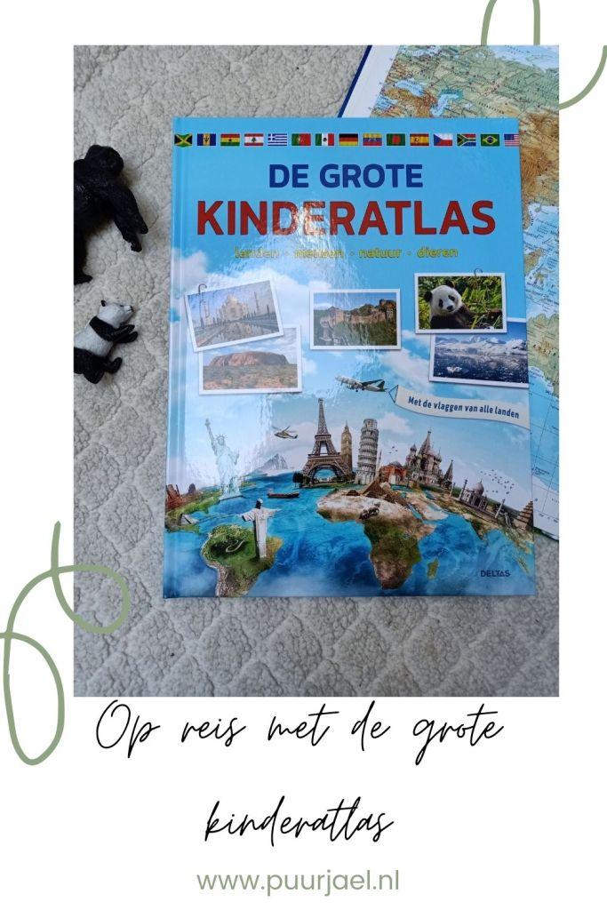 Op reis met de grote kinder atlas