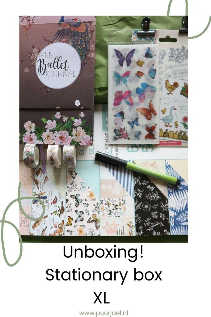 Stationary box XL - pinterest