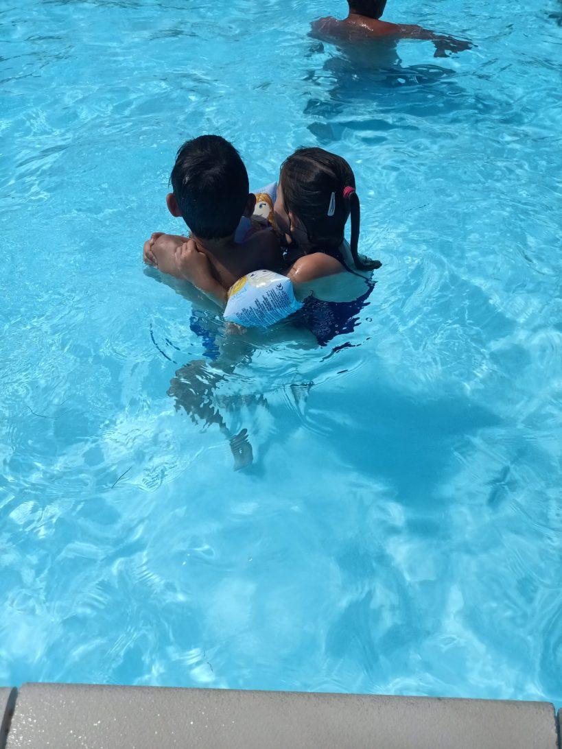 donderdag 22 juli - zwembad