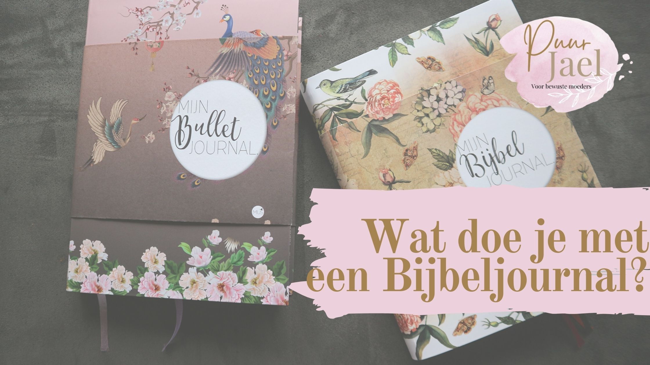 Wat is het verschil tussen de Bijbel journal en Bullet journal?