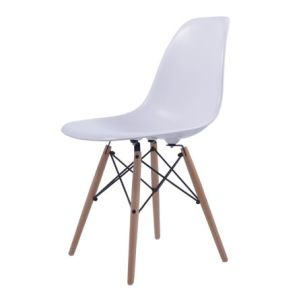 eames design stoel wit