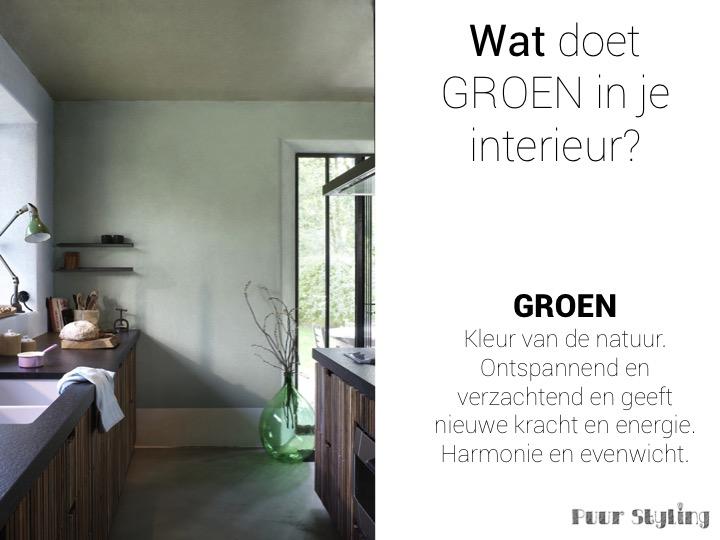 kleur in je interieur puur styling woonplan