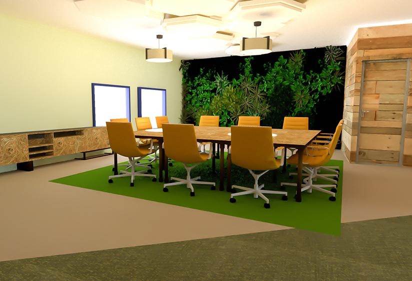 PORTFOLIO | Interieurontwerp voor Stressvrije en Gezonde werkplek op kantoor