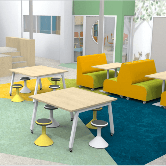 KindCentrum Eenrum interieur en kleuradvies