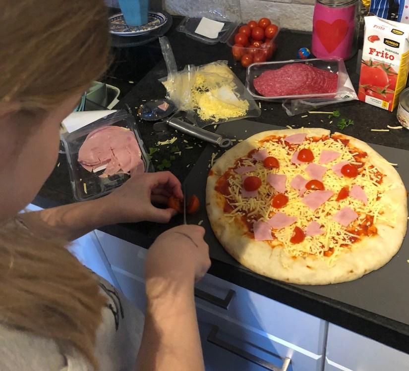 zelf pizza maken meivakantie tips puur van geluk