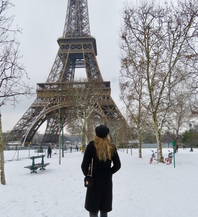 sneeuw - parijs - puurvangeluk