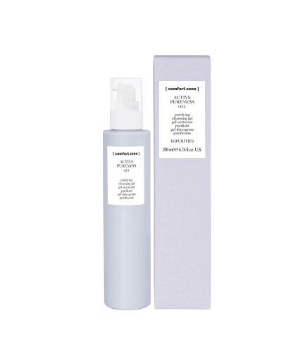 Product en verpakking active pureness cleanser gel 200ml [comfort zone] puurwellnessamersfoort