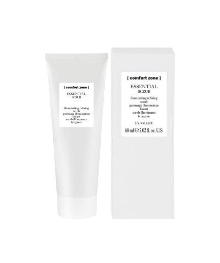 product en verpakking essential scrub 60ml [comfortzone] puur wellness amersfoort