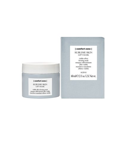 product en verpakking Sublime skin mask [comfort zone] Puur wellness Amersfoort