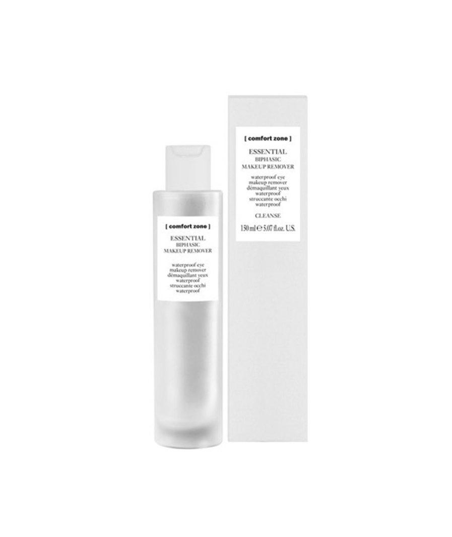 product en verpakking Essential biphasic make-up remover 150ml [comfort zone]