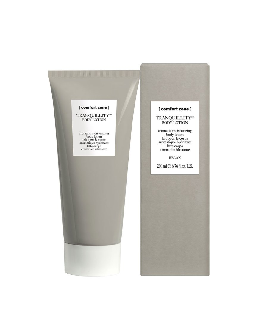 product en verpakking Tranquillity Body Lotion [comfort zone] puurwellnessamersfoort