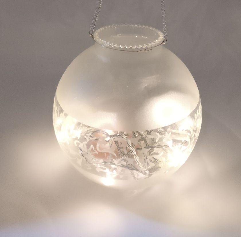 DIY lyhty lampunkuvusta