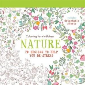 puutarha-aiheinen värityskirja