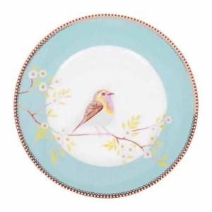 pip studio vaaleansininen lautanen