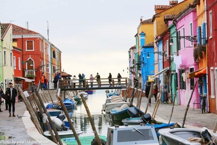 【義大利嘉年華】威尼斯離島景點♥♥慕拉諾Murano(玻璃島) & 布拉諾Burano(彩色島/蕾絲島)♥♥
