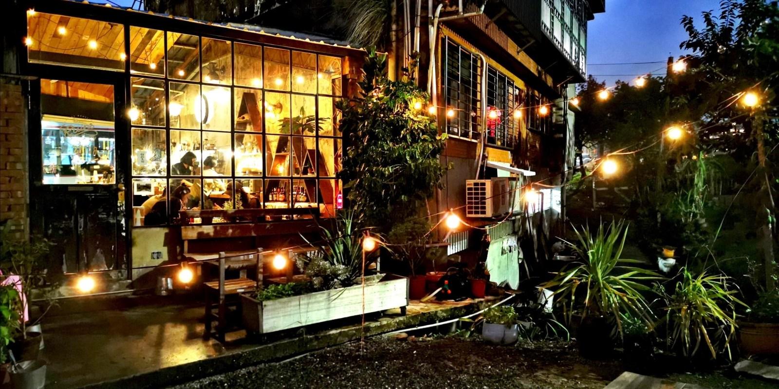 【小廢墟 Ruins Coffee Roasters】文山區。在廢棄倉庫喝咖啡,木柵景美溪畔不限時咖啡館