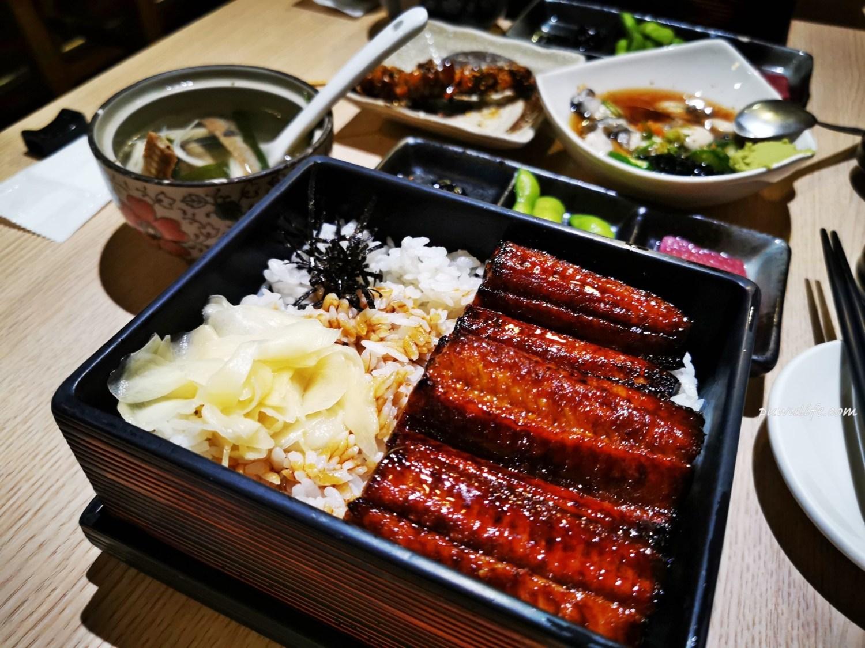 【鰻丼作】台南中西區。產地直送美味,巷子裡的炭火鰻魚飯
