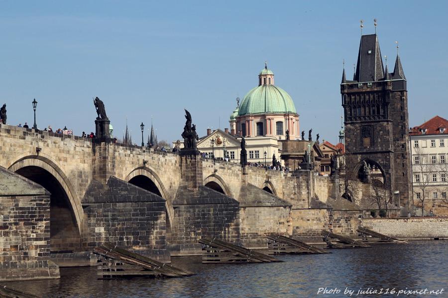 【捷克自助】布拉格查理大橋(Karlův most) & 舊城橋塔觀景台(The Lesser Town Bridge Tower)