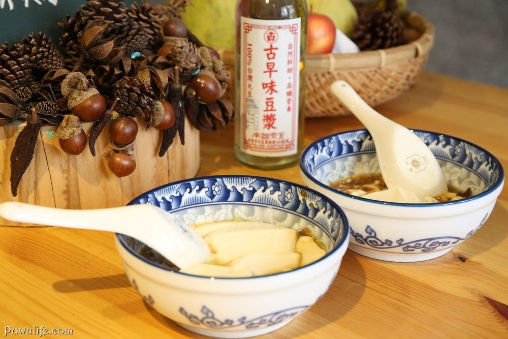 【南國黃豆】台南市北區。100%台灣黃豆純手工製作,香醇濃郁的古早味豆漿、鹽滷豆花♥(成大周邊)