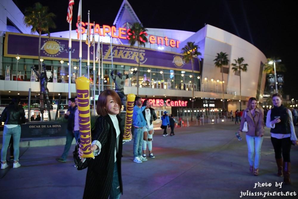 【美西自由行】到洛杉磯看NBA還能巧遇大明星x湖人Lakers v.s 金塊Nuggets
