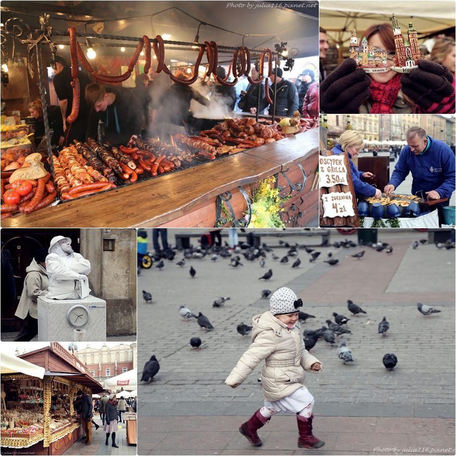 【波蘭自助】克拉科夫(Kraków)。一年一度復活節市集~難忘超美味豬腳❤