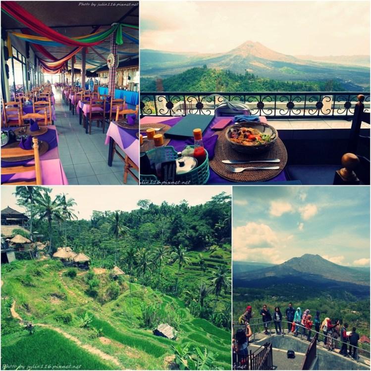 【峇里島度假去】康康中文包車>德哥拉朗梯田Tegallalang>巴杜爾火山景觀餐廳吃到飽(Grand Puncak Sari)