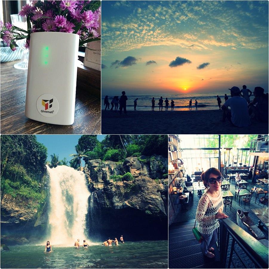 【峇里島度假去】印尼行動上網-GivemeFi分享器不限流量,讓我暢行無阻吃到飽