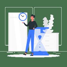 時間管理の画像
