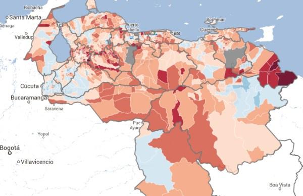 Oposición puede ganar 96 alcaldías (1/3 de los municipios)