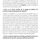 Entrevista // El chavismo usa herramientas de la democracia para destruirla