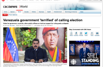 Venezuela government 'terrified' of calling election