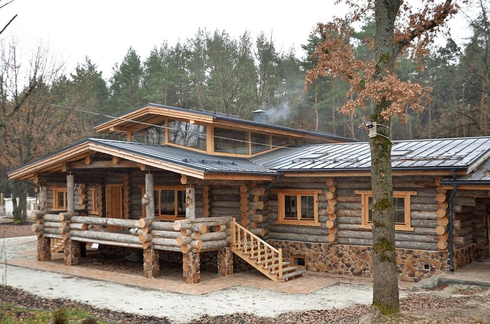 chalet en bois maison en rondin