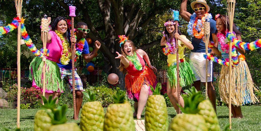 fête hawaienne