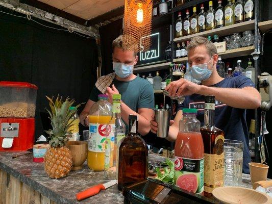 Bar à cocktails Chronodrive