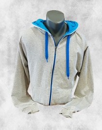 duks jakna krem tirkiz