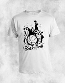 basketball 2 bela majica